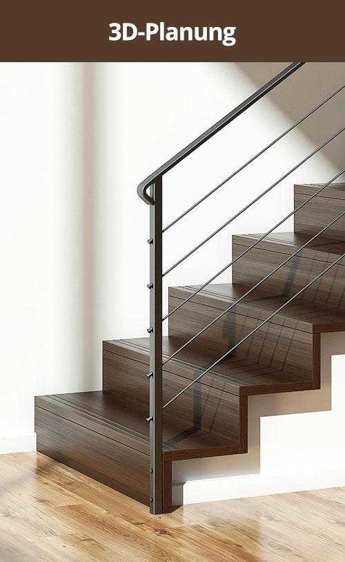 Treppen 3D-Planung