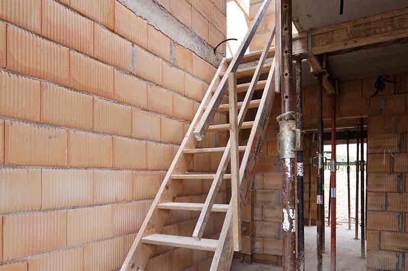 Bautreppe Absturzsicherung