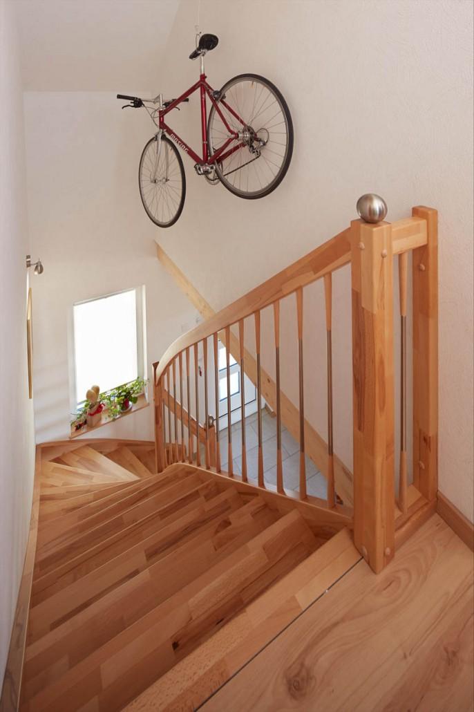 wangentreppe h hegers treppen. Black Bedroom Furniture Sets. Home Design Ideas
